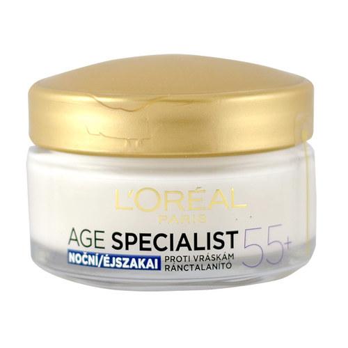 Image of Age Specialist 55+ Night Cream 50ml Per Donna