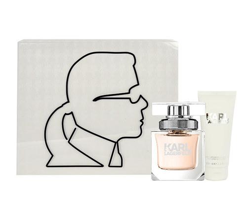 Image of Karl Lagerfeld For Her 45Ml Edp 45Ml + 100Ml Body Milk Per Donna