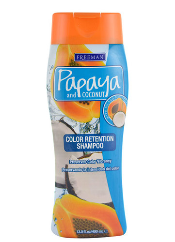 Image of Color Retention Shampoo Papaya And Coconut For colored hair 400ml Per Donna