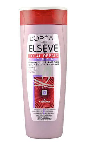 Image of Elseve Total Repair Extreme Shampoo For dry hair and split ends 250ml Per Donna