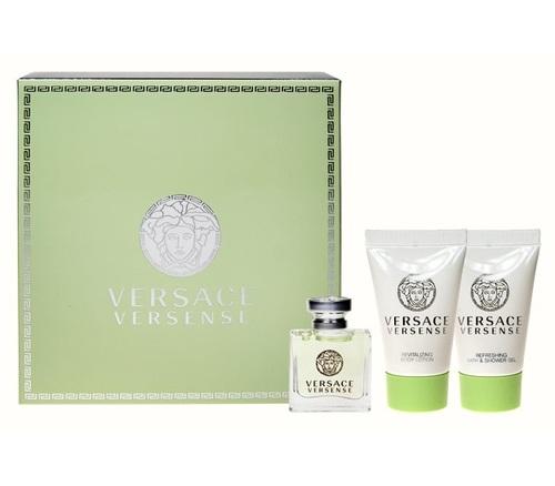 Image of Versense 5ml Edt 5ml + 25ml docciaschiuma + 25ml Lozione corporale Per Donna