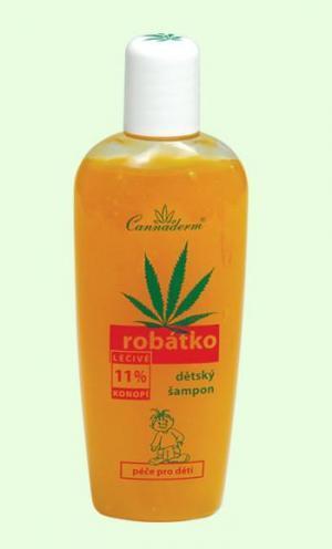 Image of Robátko šampon d?tský 150ml Baby shampoo for hair and body Per Donna