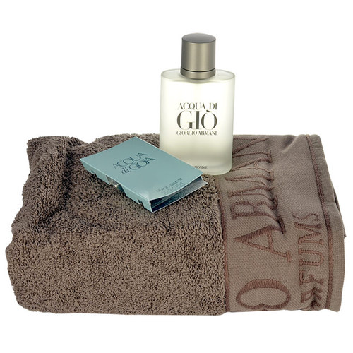 Image of Acqua di Gio Pour Homme Edt 100ml + Towel + 1,5ml Edp Acqua di Gioia 100ml Per Uomo
