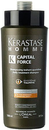 Image of Homme Capital Force Shampoo Densifying Effect 250ml Volume effect Per Uomo