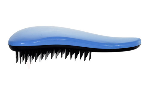 Image of Detangling Brush Hair Brush With Handle 1Pc Per Donna Blue