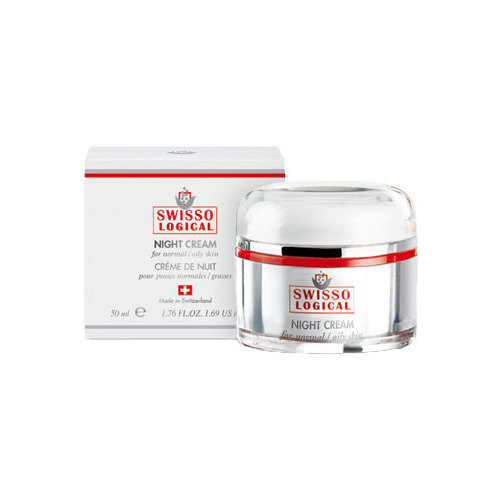Image of Swisso Logical Night Cream Normal Skin Normal And Oily Skin 50Ml Per Donna