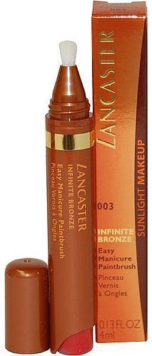Image of Infinite Bronze Easy Manicure Paintbrush 4ml 003 Deep Orange Per Donna
