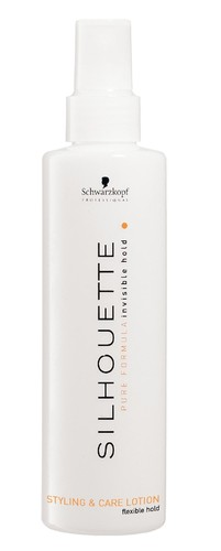 Image of Silhouette Styling & Care Lotion 200ml Hair spray for volume and care Per Donna