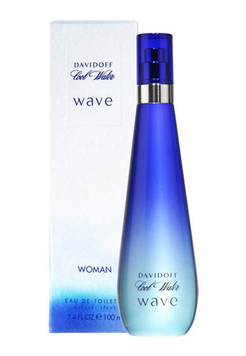 Image of Cool Water Wave 100ml Per Donna