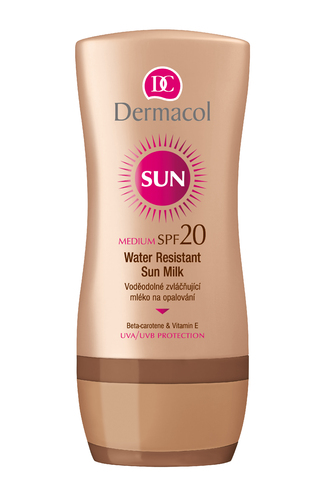 Image of Sun Milk SPF20 200ml Water-resistant Per Donna