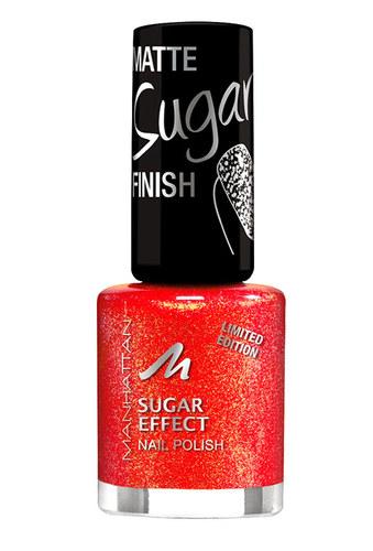 Image of Sugar Effect Nail Polish 8Ml Per Donna 3 Coral Glam