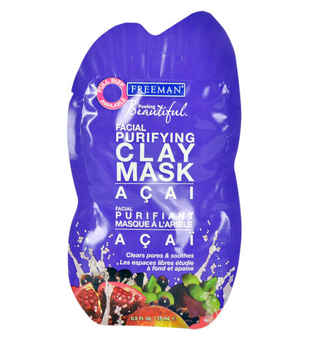 Image of Facial Purifying Clay Mask Acai For All Types Of Skin 15Ml Per Donna