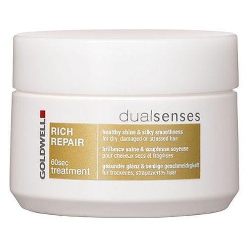 Image of Dualsenses Rich Repair 60 Sec Treatment For dry and brittle hair 200ml per Donna