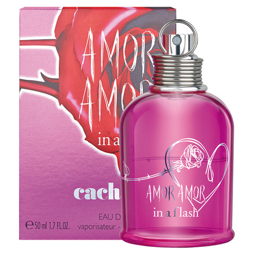 Image of Amor Amor In a Flash 100ml Per Donna TESTER