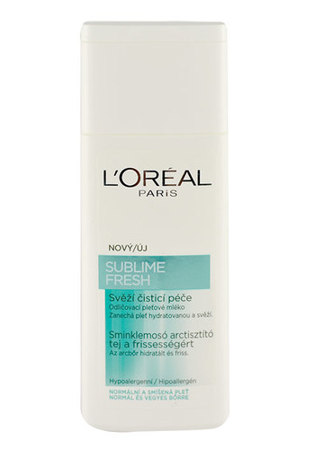 Image of Sublime Fresh Cleansing Milk Normal and combination skin 200ml Per Donna