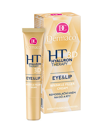 Image of Hyaluron Therapy 3D Eye & Lip Cream Eye and lip cream 15ml Per Donna