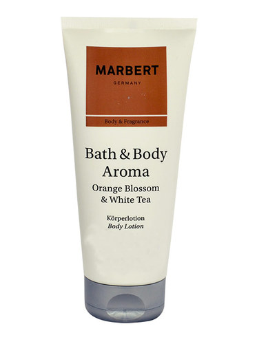 Image of Bath & Body Aroma Orange & White Tea Body Lotion 200Ml Per Donna