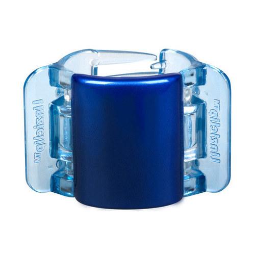 Image of Midi Hair Clip Hair Clip 1Ks Per Donna Blue Pearl Translucent