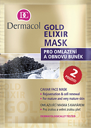 Image of Gold Elixir Mask 16ml Caviar rejuveforting mask, All skin types Per Donna