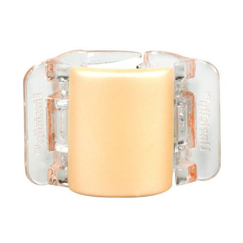 Image of Midi Hair Clip Hair Clip 1Ks Per Donna Linen Pearl Translucent