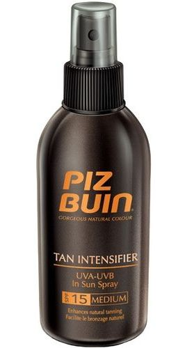 Image of Tan Intensifier Sun Spray SPF15 150ml Accelerates tan SPF15 Per Donna