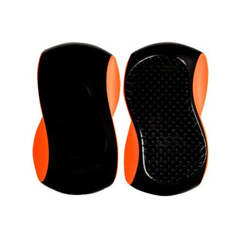 Image of Grip Brush 1Ks Big Hairbrush Black Orange Per Donna