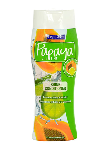 Image of Shine Conditioner Papaya And Lime For Strength And Shine 400Ml Per Donna
