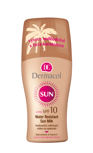 Image of Sun Milk Spray SPF10 200ml Water-resistant Per Donna