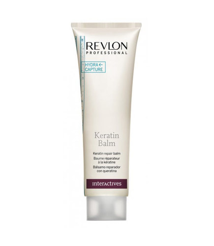 Image of Keratin Repair Balm For hair regeneration and nutrition 750ml per Donna