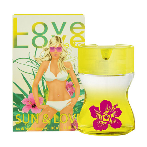 Image of Love Love Sun & Love 100Ml Per Donna