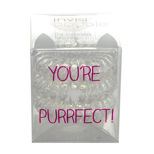 Image of Hair Ring 3Ks Hair Ring You Are Purrfect! Per Donna