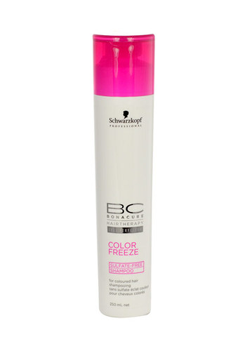 Image of Bc Cell Perfector Color Freeze Sulfat Free Shampoo 250Ml Per Donna