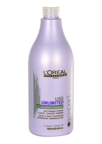 Image of Expert Liss Unlimited Conditioner 750Ml Conditioner For Smoothing Unruly Hair Per Donna