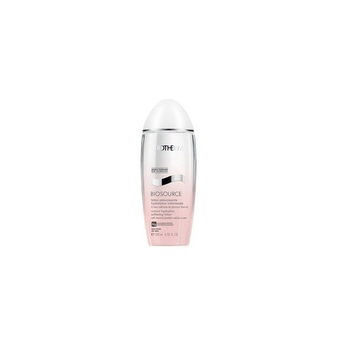 Image of Biosource Instant Hydration Softening Lotion 200ml Dry skin Per Donna