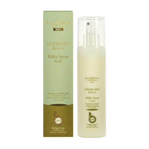 Image of Hydro Bio Reserve Milky Spray Body Body spray for normal to dry skin 200ml Per Donna