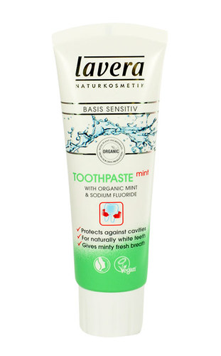 Image of Basis Sensitiv Mint Toothpaste With Fluorid 75Ml Per Donna