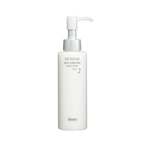 Image of Sensai Silky Purifying Milky Soap 150ml Per Donna