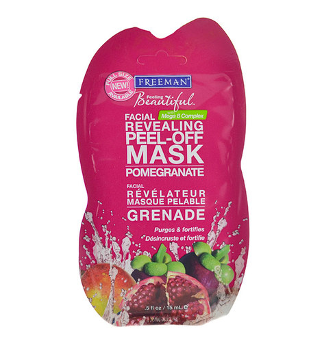 Image of Facial Revealing Peel-Off Mask Pomegranate For all skin types 15ml Per Donna