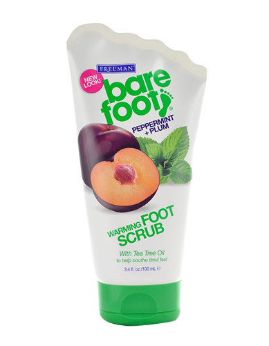 Image of Foot Warming Scrub Peppermint&Plum For relaxation and refreshment feet 100ml Per Donna
