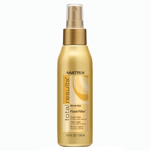 Image of Total Results Blonde Care Flash Filler Mist 125ml For bright blond hair Per Donna