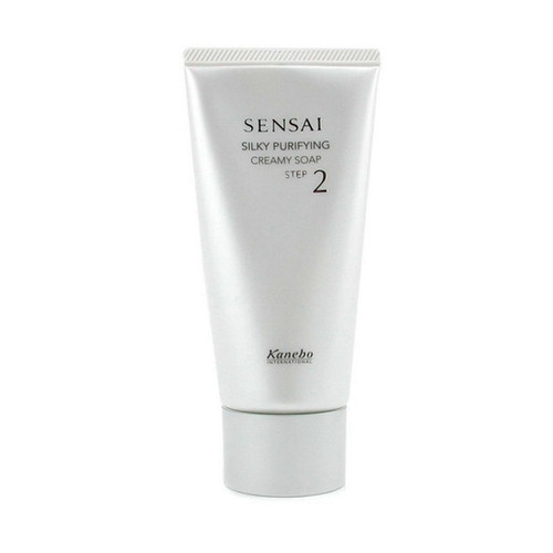 Image of Sensai Silky Purifying Creamy Soap 125ml Per Donna