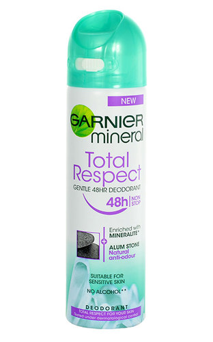 Image of Mineral Deodorant Total Respect 48H Spray 150Ml Per Donna