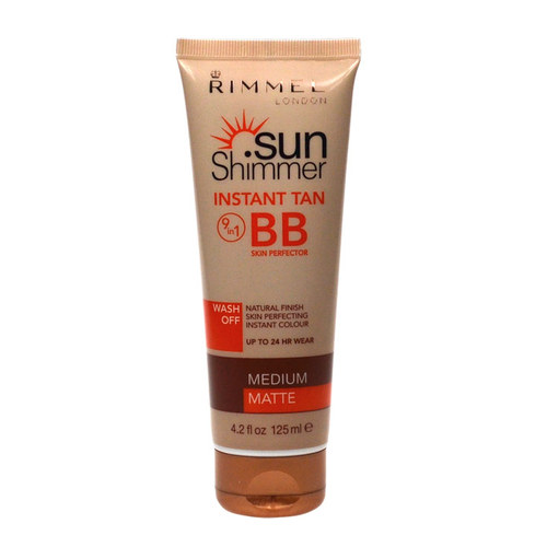 Image of Sun Shimmer Instant Tan BB Skin Perfector Medium Matte 125ml Per Donna
