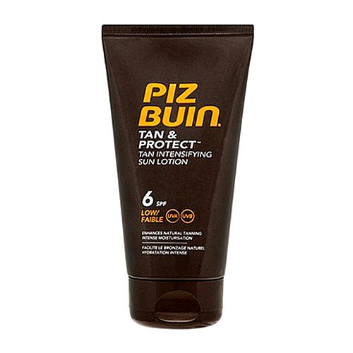 Image of        Tan & Protect Tan Intensifying Sun Lotion Spf6 150Ml Accelerates Tan Spf6 Per Donna