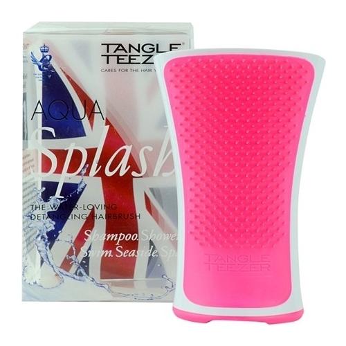 Image of Aqua Splash Pink 1ks Pink brush for wet hair Per Donna