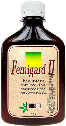 Image of Femigard II-Hemostop 300ml Per Donna