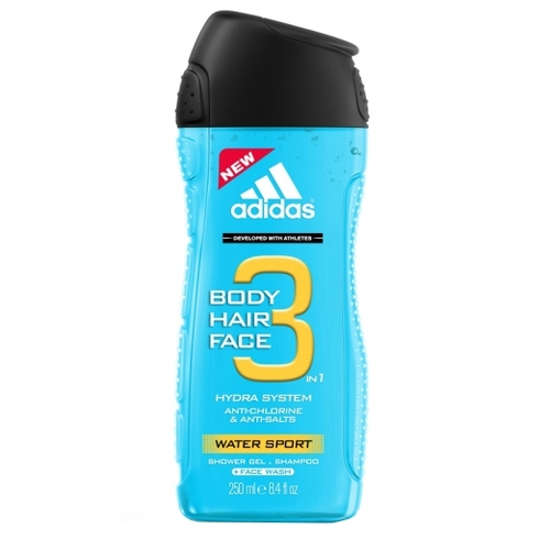 Image of 3in1 Water Sport 250ml Per Uomo