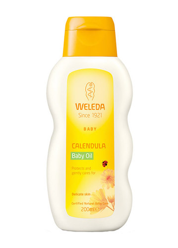 Image of Baby Calendula Oil Marigold baby oil 200ml Per Donna