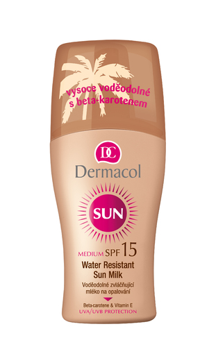 Image of Sun Milk Spray SPF15 200ml Water-resistant Per Donna