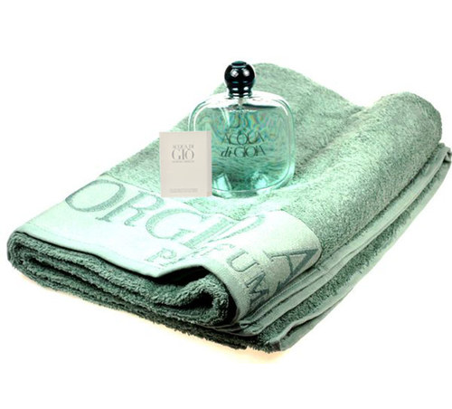 Image of Acqua di Gioia Edp 100ml + Towel + 1,5ml Edt Acqua di Gio Men 100ml Per Donna